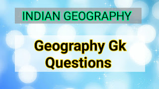 Indian geography gk