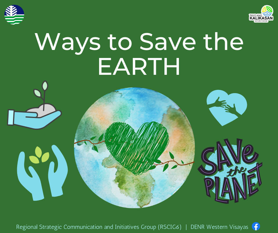 Ways to Save the Earth