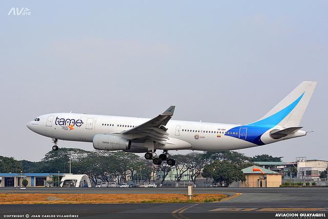 Airbus A330 de Tame HC-COH