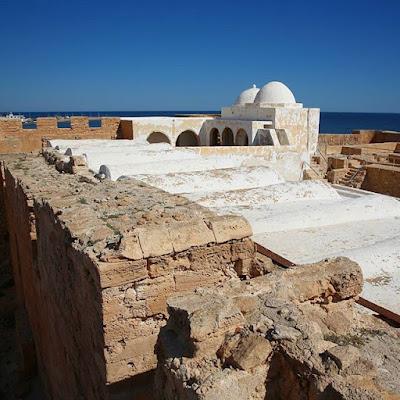 Borj el Kebir por dentro en Djerba