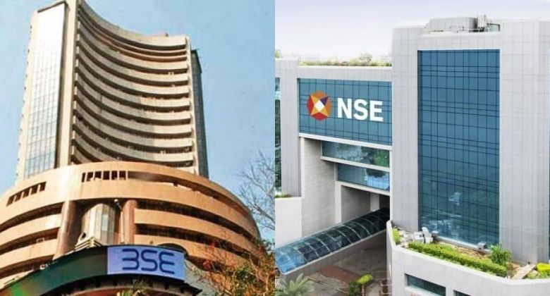 Bombay stock market and national stock market sensex and nifty