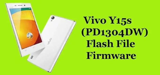 Vivo Y15S Flash File TESTED Stock ROM Firmware