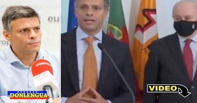 Leopoldo López se reunió con el líder Social Demócrata portugués
