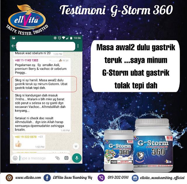 Penawar Gastrik G-Storm 360