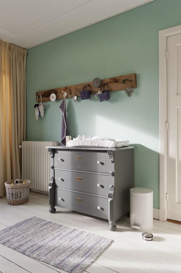 kleur interieur inspiratie mintgroen voor de babykamer kinderkamer stijlvol styling. Black Bedroom Furniture Sets. Home Design Ideas