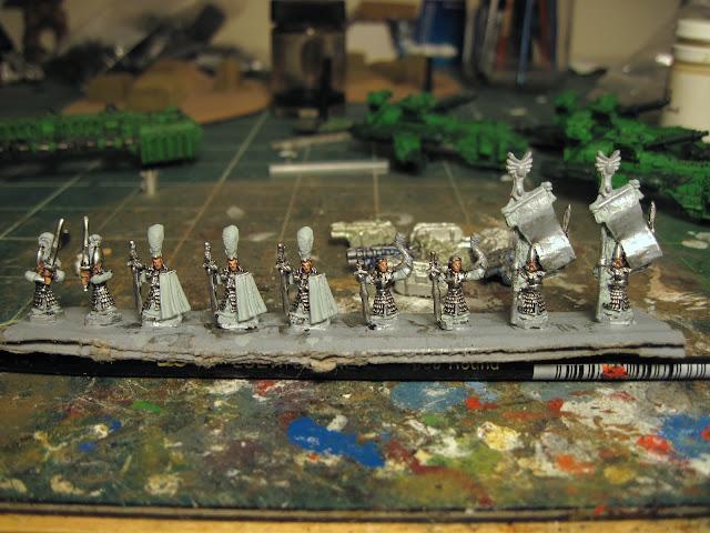 High Elf Sword Masters Command