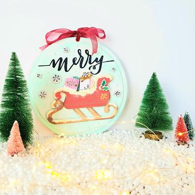 Adorno Navidad DIY