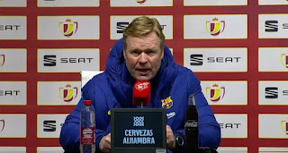 Koeman reveals what he loves most on Barca's 'incredible' comeback at Granada