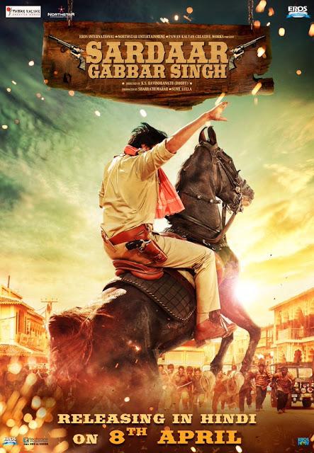Sardaar-Gabbar -Singh -Hindi -Version -First- Look -Poster