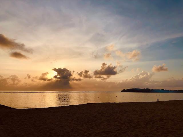 Sunrise at Sofitel Bali Nusa Dua Resort