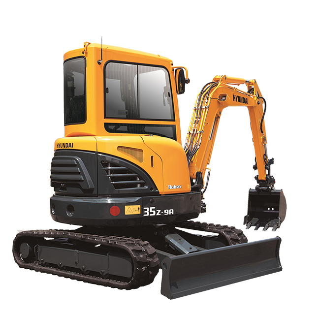 Hyundai Excavators R35Z-9A