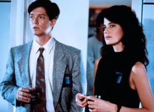 Eric Stoltz y Daphne Zuniga