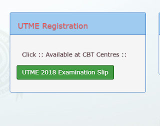 2018 UTME Result Checking portal