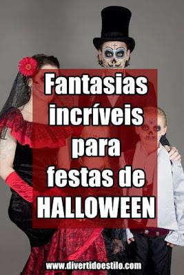 Fantasia de Halloween Feminina