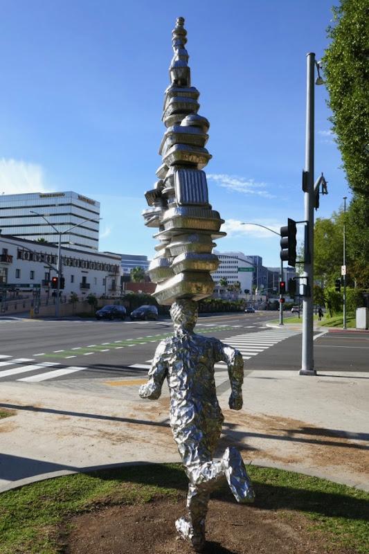 Takeaway sculpture Tom Friedman Beverly Hills