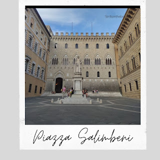 Siena piazza Salimberi