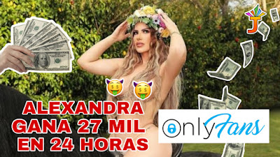 VIDEO: Alexandra MVP gana 27 mil dólares en Onlyfans en 24 horas   @EntreJerez   @AlexHatcu