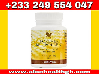 Forever Bee Pollen is nature's most perfect food. it has no preservatives, artificial flavors or colors, it contains ingredients which may increase energy  level .