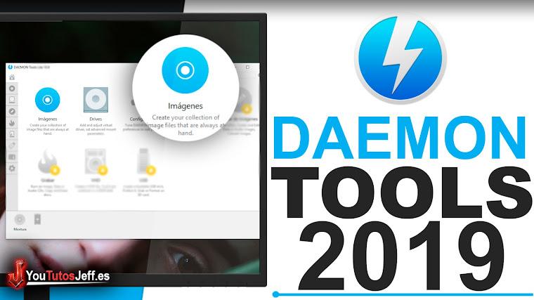 Como Descargar Daemon Tools Ultima Versión 2019 Español - 32 y 64 Bits
