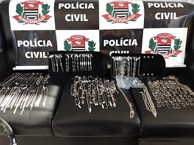 Policiais Civis da Dig prendem Homem que praticou furto no Shopping Plaza em Registro-SP