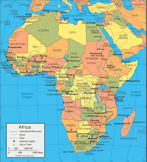 Benua Afrika, Iklim Perbatasan dan Keadaan Alam