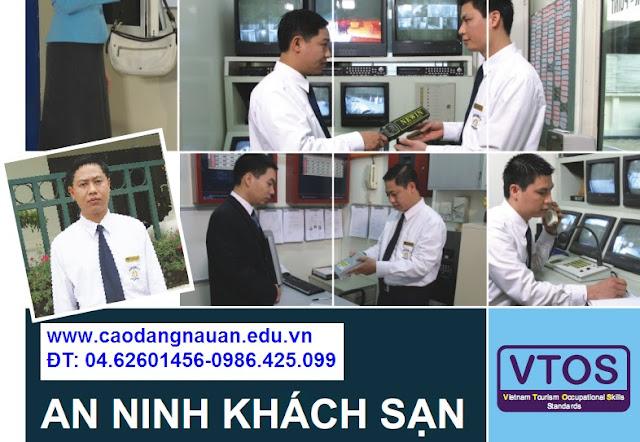 Nghiệp vụ an ninh khách sạn [Tiêu chuẩn VTOS - www.caodangnauan.edu.vn]