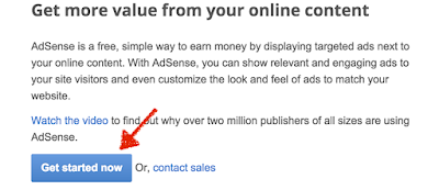 Get Start to Ally Google Adsense