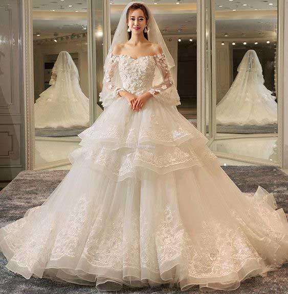فساتين اعراس مميزة ، تشكيلة رائعة من بدلات وفساتين الاعراس لجمالك