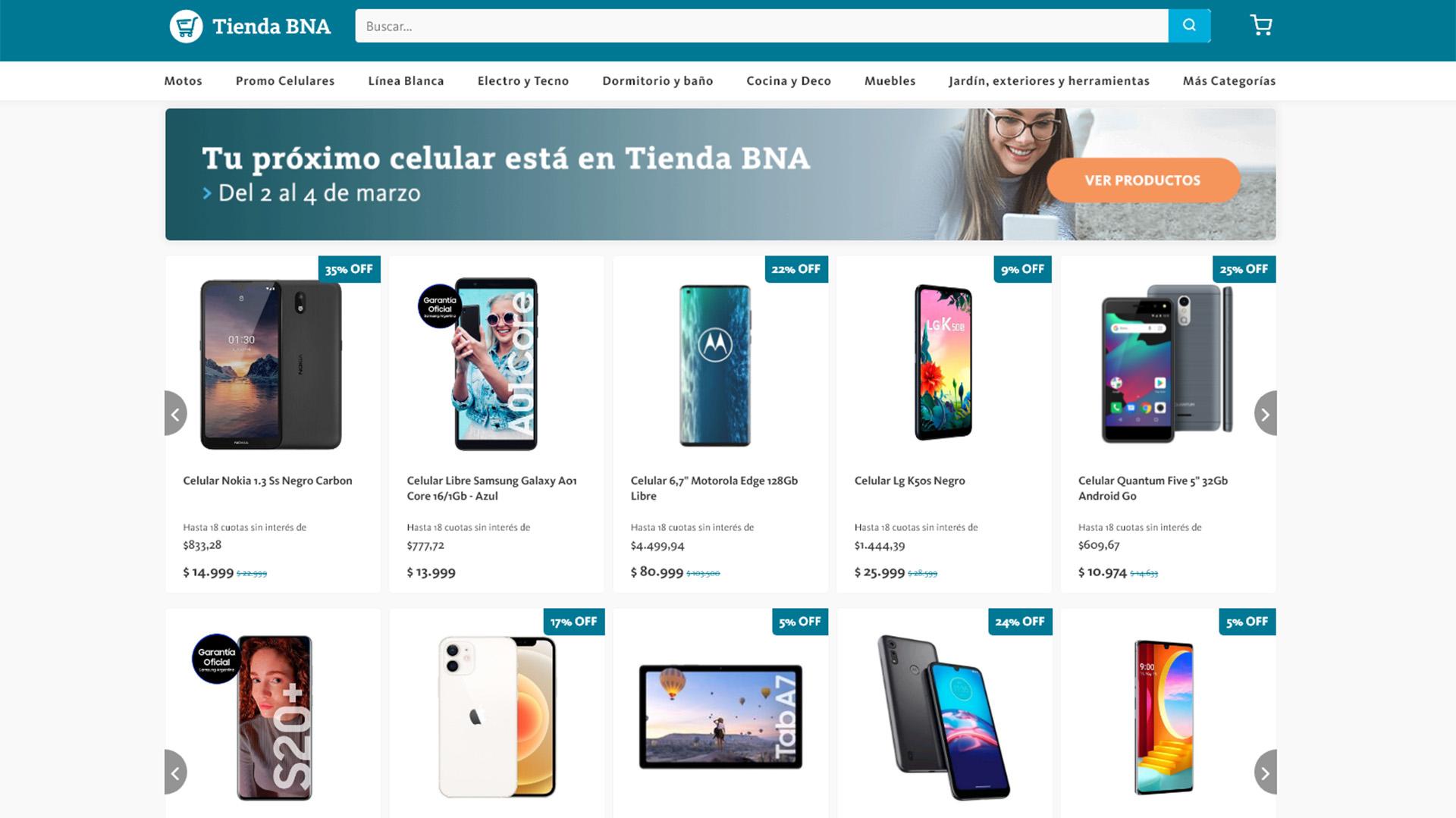 El Banco Nación lanza promoción para la compra de teléfonos celulares en 18 cuotas sin interés: ¿Cuáles son?