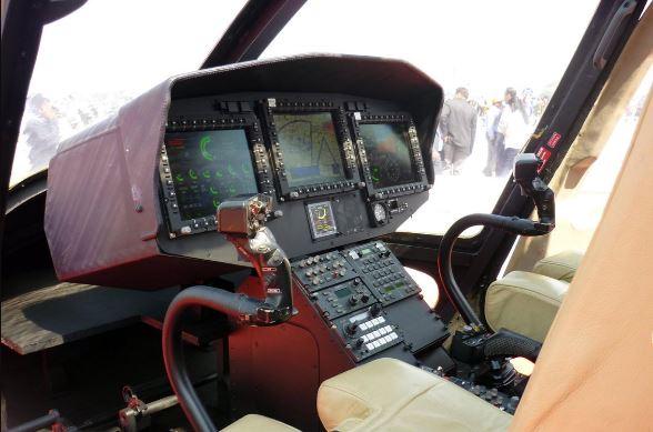 HAL LUH cockpit