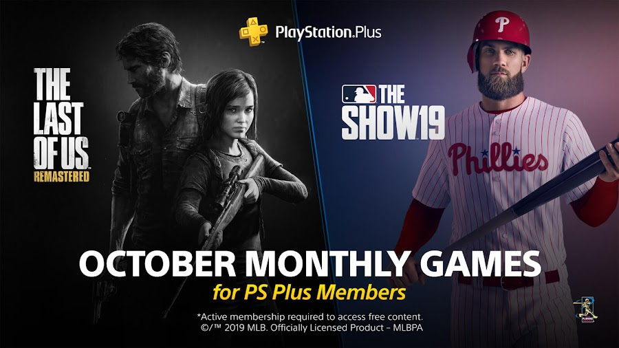 the last of us remastered mlb the show 19 game ps4 plus sony interactive entertainment