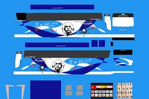 Download Kumpulan Livery Euroliner MOD BUSSID BSW Codit By UMP