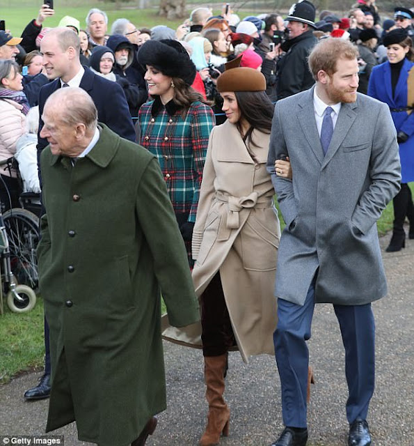 Prince Philip, Meghan Markle, Prince Harry, Duchess Kate, Prince William