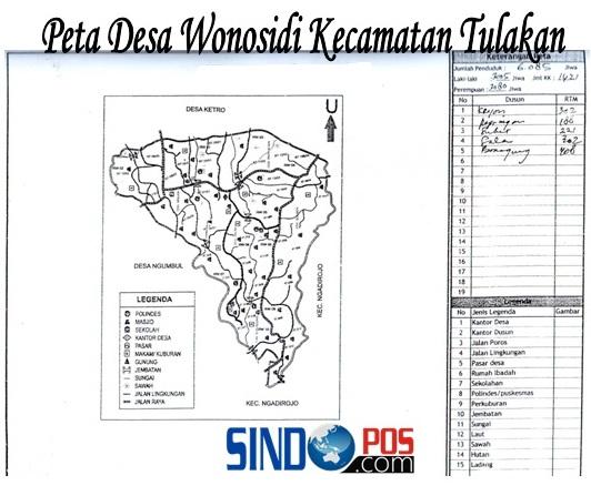 Profil Desa & Kelurahan, Desa Wonosidi Kecamatan Tulakan Kabupaten Pacitan