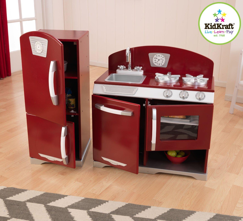 kidkraft retro kitchen and refrigerator now only $131.73