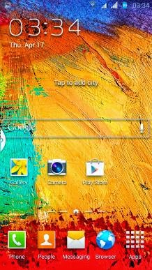 Rom Note 3 for Lenovo P780