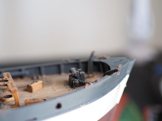 Casse mitragliatrice Browning della QShip Amati inglese WWI prima guerra mondiale