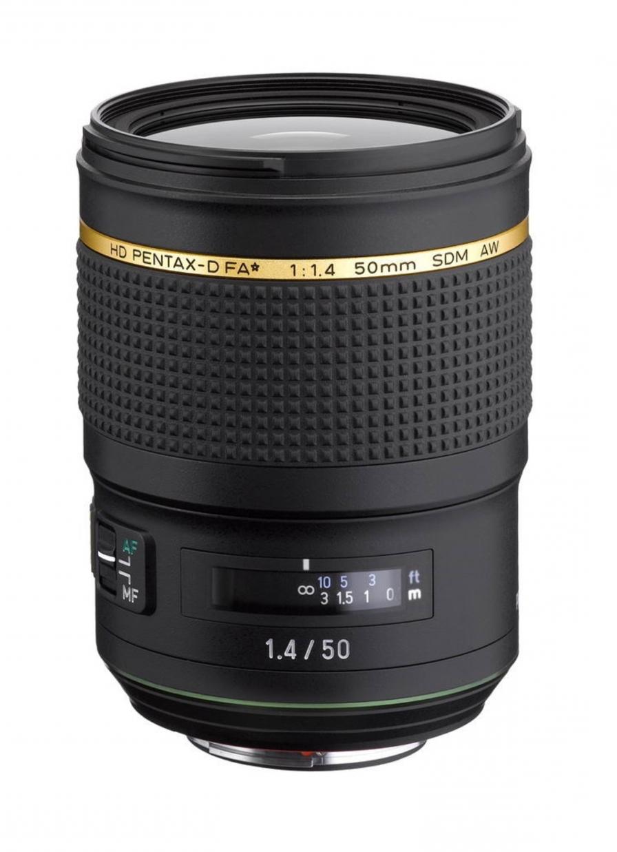 HD Pentax-D FA★ 50mm f/1.4 SDM AW