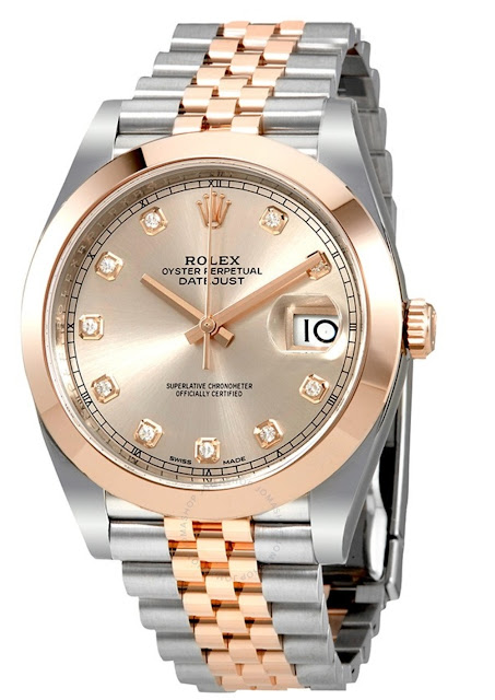 Pajak Rolex Datejust-41-Steel-Rose-Gold-126301 RM 25,000