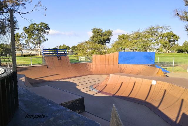 skate park Krause Family skate bike park san diego