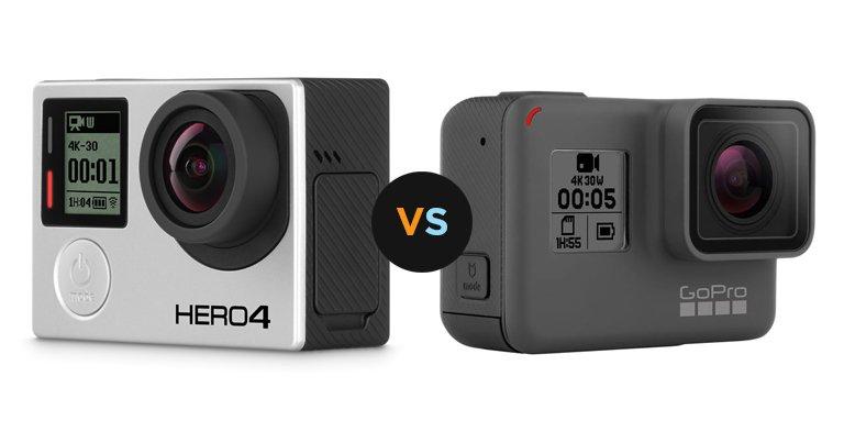 Kamera GoPro Hero 5 vs GoPro Hero 4