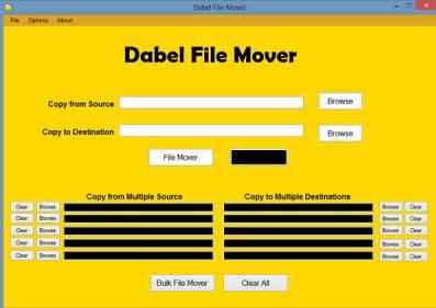 Dabel File Mover