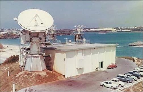 NASA tracking station on Cooper's Island, Bermuda
