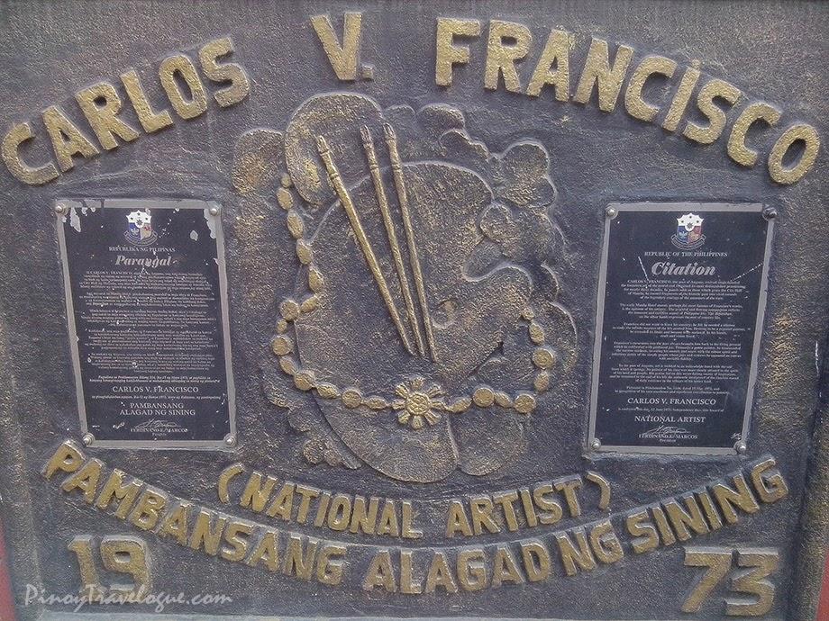 Carlos Francisco's citation as National Artist