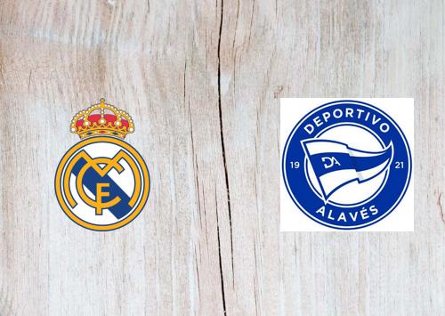 Real Madrid vs Deportivo Alavés -Highlights 28 November 2020