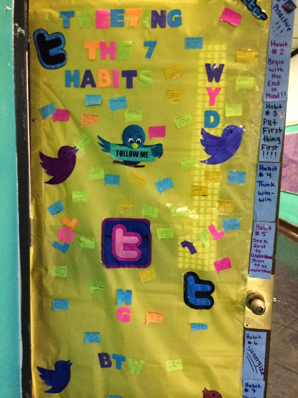 Southwark School K 8 Quot The Leader In Me Quot Door Decoration