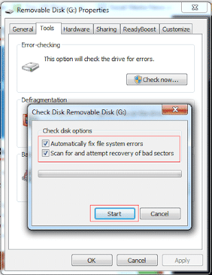 "Cara Memperbaiki ""Windows Was Unable To Complete The Format"" Error - Check Errors 3"