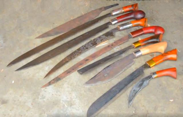 Gambar Khudok senjata tradisional Sumatera Selatan