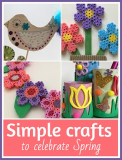 Simple crafts to celebrate Spring for children and adults alike