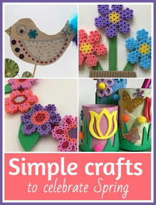 Simple crafts to celebrate Spring